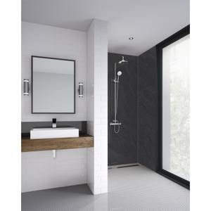 Wetwall Sicilian Slate Natural 3 Sided Kit - Laminate