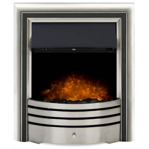 Adam Astralis 6-in-1 Electric Inset Fire with Remote