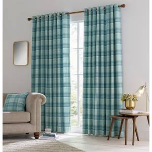 Helena Springfield Harriet Lined Curtains 90 x 90 - Duck Egg