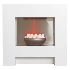 Adam Cubist Electric Suite in White