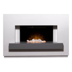 Adam Sambro Electric Suite in White & Grey