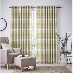 Helena Springfield Nora Lined Curtains 66 x 72 - Willow