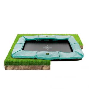 Exit Supreme Ground Level 8 x 14ft Trampoline