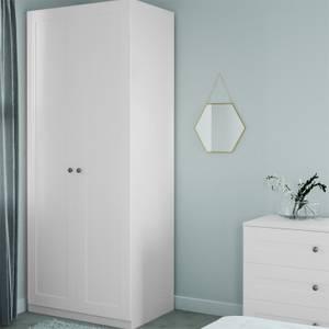 Modular Bedroom Shaker Double Wardrobe - White