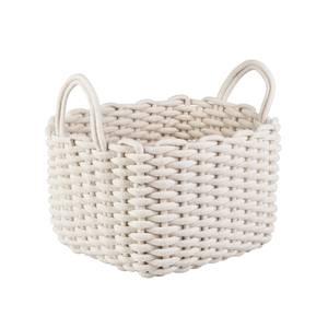 Rope Weave Basket - White