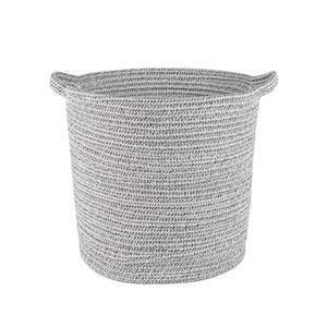 Two-Tone Cotton Rope Basket