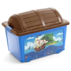 Kids Treasure Toy Box - Blue