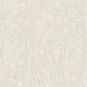 Boutique Deco Geo Ecru Wallpaper