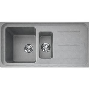 Franke Impact 1.5 Bowl Granite Sink - Stone Grey
