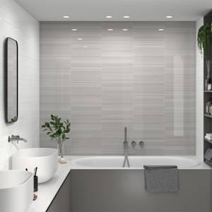 Manhattan Linea Grey Wall Tile-25x40