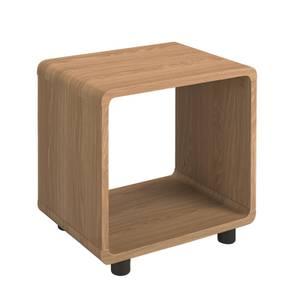 Curve Lamp Table - Oak Finish