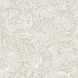 Holden Decor Coralito Marble Effect Textured Metallic Cream Wallpaper