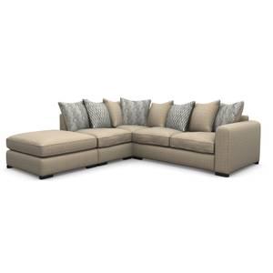 Lewis Lefthand Corner Sofa - Natural