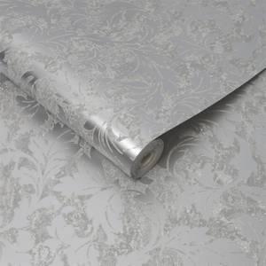 Superfresco Milan Scroll Silver Wallpaper
