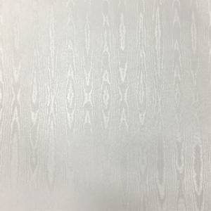 Sublime Moire Silver Wallpaper