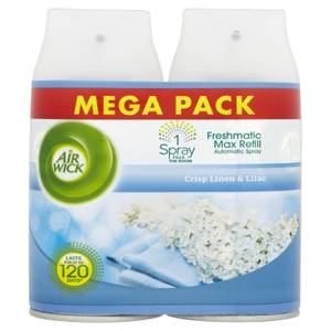 Airwick Max Twin Pack Refill Linen