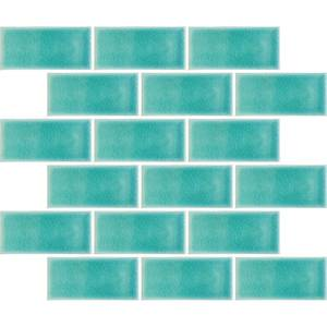 HoM Teal Crackle Midi Metro (Sample Only) - 150 x 110mm