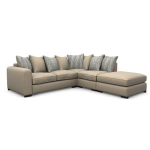 Lewis Righthand Corner Sofa - Natural