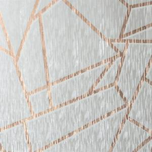 Sublime Theia Geo Mist & Rose Gold Wallpaper