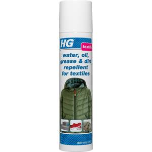 HG Water, Oil, Grease and Dirt Repellent For Textiles - 300ml