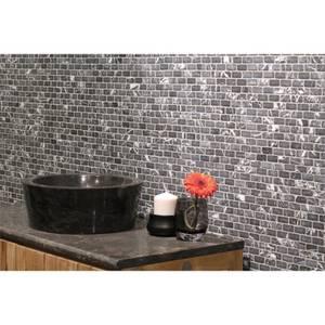 HoM Grey Brick Mosaic Tile - 305 x 305mm