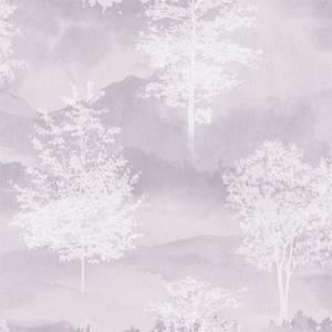 Holden Decor Shetland Tree Smooth Heather Wallpaper