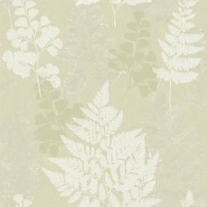 Holden Decor Bramble Leaf Smooth Green Wallpaper