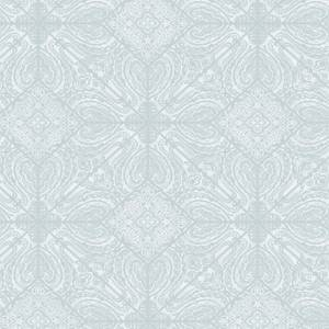 Holden Decor Conistone Geometric Smooth Teal Wallpaper