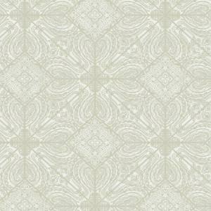 Holden Decor Conistone Geometric Smooth Green Wallpaper