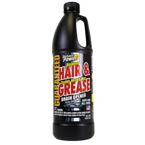 Instant Power Hair & Grease Drain Remover 1 Litre