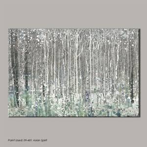 Watercolour Woods Canvas
