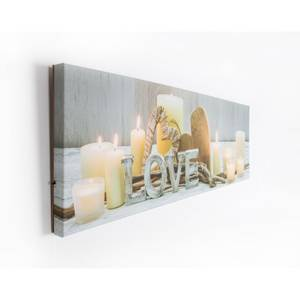 Love Led Light Canvas