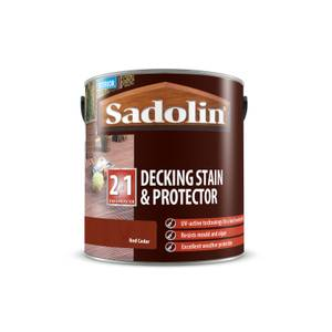 Sadolin Red Cedar Decking & Stain Protector - 2.5L
