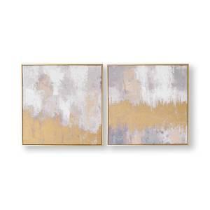 Laguna Mist Framed Canvas