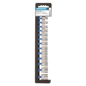 Silverline 13 Piece Socket Set 3/8 6 Point  Metric - 6-21mm