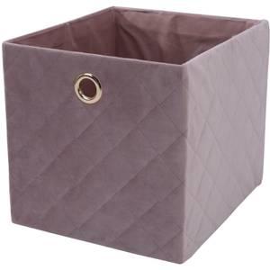 Premium Cube Quilted Velvet Insert - Blush