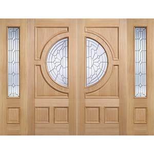Empress - Oak - Glazed Exterior Door -1981 x 762 x 44