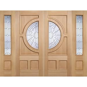 Empress - Oak - Glazed Exterior Door - 1981 x 838 x 44