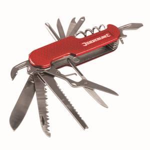 Silverline Pocket Knife 14-Function - 75mm