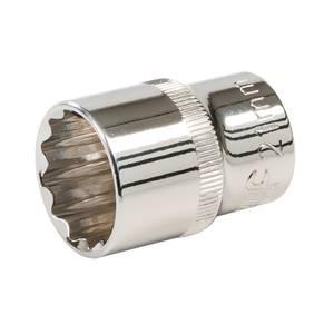 Silverline Socket 1/2 Drive 12 Point Metric 21mm