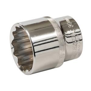 Silverline Socket 1/2 Drive 12 Point Metric 30mm