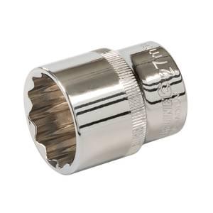 Silverline Socket 1/2 Drive 12 Point Metric 27mm