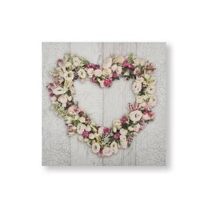 Floral Heart Canvas
