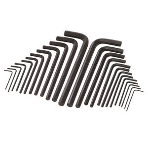 Silverline 25 Pieces Hex Key Long Series Metric & AF