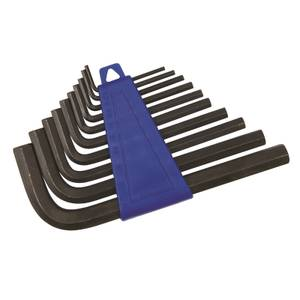 Silverline 10 Piece Hex Key Set - 2-10mm