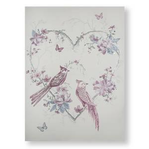 Elegant Songbirds Canvas