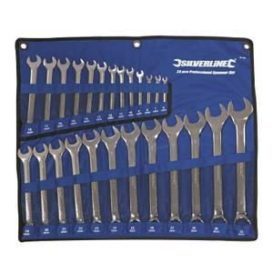Silverline 25 Piece Combination Spanner Set - 6-32mm