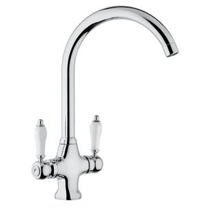 Homebase Gemma Twin Lever Chrome