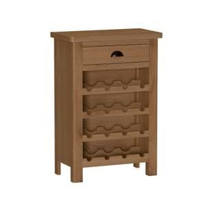 Newlyn Wine Cabinet - Oak