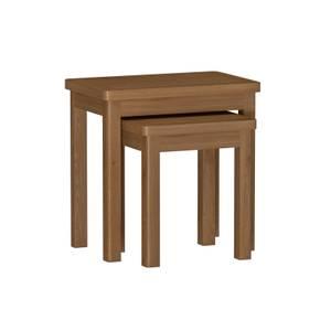 Newlyn Nest of 2 Tables - Oak
